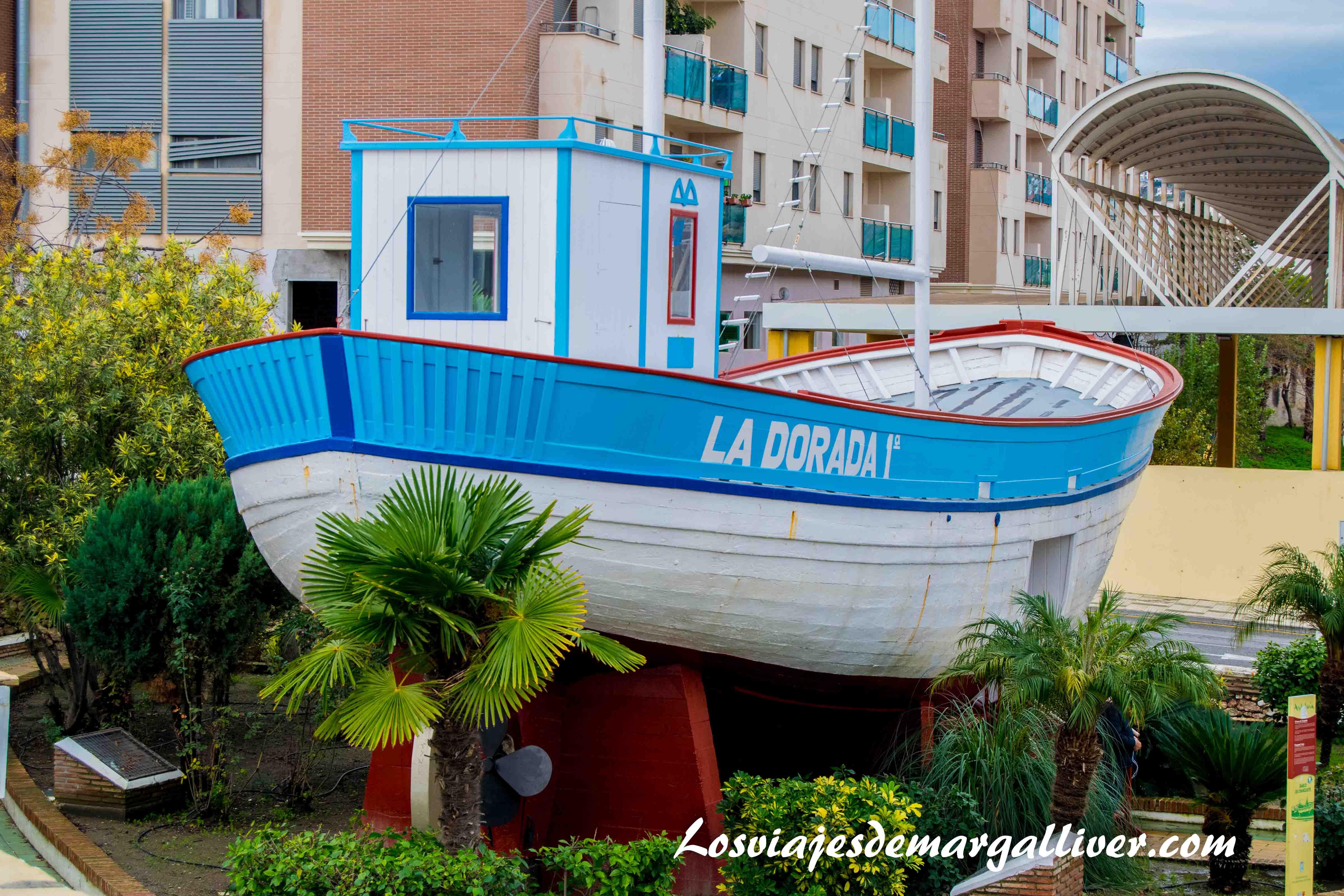 La dorada, el barco de chanquete, verano azul en Nerja - Los viajes de Margalliver